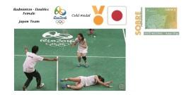 Spain 2016 - Olympic Games Rio 2016 - Gold Medal Badminton Female Japon Cover - Juegos Olímpicos