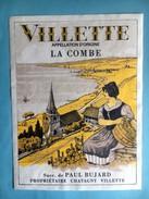1530 - Suisse Vaud  Villette   La Combe - Etiquettes