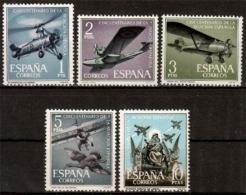 Spanien MiNr. 1296/00 ** 50 Jahre Spanische Luftfahrt - 1961-70 Ungebraucht