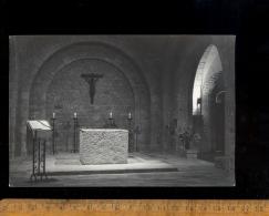 VAL SAINT ST PERE Manche 50 : Carmel  Photo Intérieur Chapelle église Autel - Frankreich