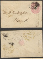 GB, 1850 Envelope 1d Pink, Type I Undated, Fine - Stamped Stationery, Airletters & Aerogrammes