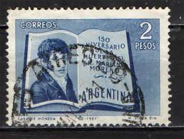 ARGENTINA - 1961 - MARIANO MORENO - USATO - Argentina