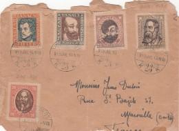 1919 LETTRE HONGRIE BUDAPEST POUR LA FRANCE  /7832 - Covers & Documents