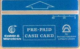 Bermuda - BER-26, L&G, C&W, Blue 40 - 309A, 2,500ex, 9/93, Mint As Scan - Bermuda