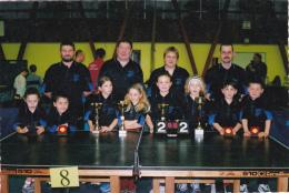 CPSM BEAUVAIS Sport Intercomités Départementaux Benjamins Tennis De Table  2002 Ping-pong Pongiste - Table Tennis