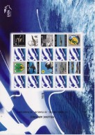 GREECE STAMPS PERSONAL STAMP WITH LABEL/HELLENIC AIR FORCE/SHEETLET -2008-MNH - Neufs