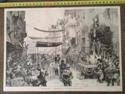 DOCUMENT ANNEES 1900 TATTEGRAIN ENTREE DE LOUIS XI 11 A PARIS 1461 - Stamps
