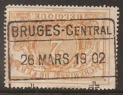 FEH-1766 BRUGES CENTRAL        #       #     Ocb TR 14 - Gebraucht