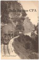 Suisse - VD - Chemin De Fer YVERDON-SAINTE-CROIX - Sortie Des Rapilles De Baulmes ++ A. Deriaz, Baulmes +++ RARE / TRAIN - VD Vaud