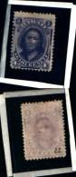 83323) Hawaiii-1864-principessa Kamamalu -n.22- -1c--sg- Cat  10 Euro - Hawaii
