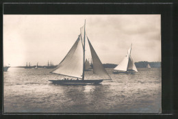 AK Stockholm, Olympiade 1912, Segelboot Edit, Segelsport - Sailing