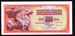Replacement. Jugoslavia 100 Dinara ZB 1986. UNC!!!! - Yougoslavie