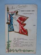 CHROMO   Mon Etendart  BLIDAH  1870  17e REGIMENT DE CHASSEURS A CHEVAL   TOUJOURS PRÊT   Aout 2016 452 - Regimenten