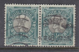 South Africa: 1947, 1/2d, Grey & Green, Used (SG114), 1/2d Charcoal & Green ( SACC 113a), Used - Used Stamps