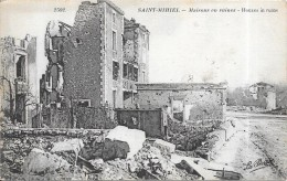 SAINT MIHIEL - 55 - Maisons En Ruines - Edit La Pensée  - ENCH0616 - - Saint Mihiel