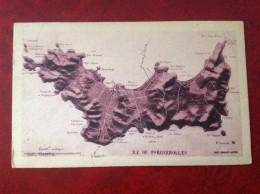 83 Carte Ou Plan De  PORQUEROLLES (vue Aérienne) - Porquerolles