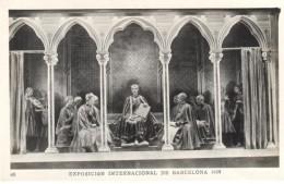 POSTAL   BARCELONA  -CATALUÑA  - EXPOSICIÓN INTERNACIONAL 1929 - PALACIO NACIONAL-ALFONSO X EL SABIO-TEATRINO - Barcelona
