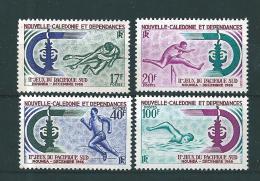 Nouvelle Calédonie  Timbre De 1966  N°332 A 335  Neuf ** - Unused Stamps