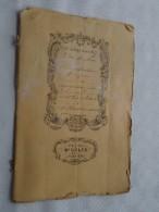 Etude De Me GILIS Notaire à VERVIERS : Adjudication - Anno 1877 ( Voir Photo Pour Détail ) ! - Non Classés