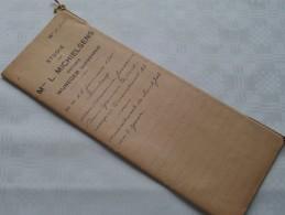 STUDIE Van Mter L. MICHIELSENS Notaris Te WIJNEGEM ( Wyneghem) Antwerpen : Akte - Anno 1941 ( Voir Photo Pour Détail ) ! - Non Classés