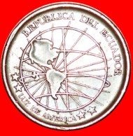 § GLOBE: ECUADOR ★ 1 CENTAVO 2003 MAGNETIC! LOW START ★ NO RESERVE! - Ecuador