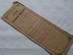 ETUDE De Me Joseph PIERAERTS Notaire A NEERWINDEN ( Canton Landen ) : Akte - Anno 1897 ( Voir Photo Pour Détail ) ! - Non Classés