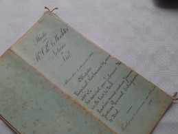 ETUDE De Chs De WACHTER Notaire à NIEL ( Prov. Antwerpen ) : Akte - Anno 1904 ( Voir Photo Pour Détail ) ! - Non Classés
