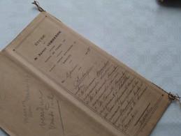 ETUDE De Xavier VERBEECK Notaire à ANVERS : Akte - Anno 1921 ( Voir Photo Pour Détail ) ! - Non Classés