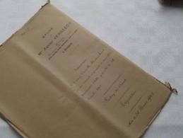 ETUDE De Xavier VERBEECK Notaire à ANVERS : Akte - Anno 1903 ( Voir Photo Pour Détail ) ! - Non Classés