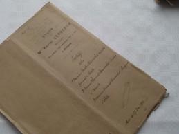 ETUDE De Xavier VERBEECK Notaire à ANVERS : Akte - Anno 1902 ( Voir Photo Pour Détail ) ! - Non Classés