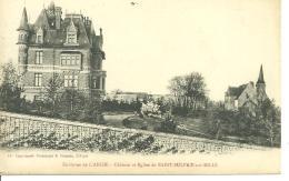51591   Env De   L,aigle    Chateau Et Eglise De St Sulpice Sur  Rille - L'Aigle