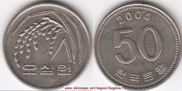 Corea Del Sud 50 Won 2004 KM#34 - Used - Corea Del Sud