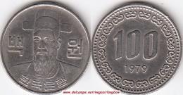 Corea Del Sud 100 Won 1979 (Admiral Yi Soon-Shin) KM#9 - Used - Corea Del Sud