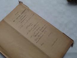 ETUDE De Mter Van Der SCHOOT Notaris ANTWERPEN : Akte - Anno 1922 ( Voir Photo Pour Détail ) ! - Non Classés