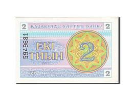 Kazakhstan, 2 Tyin, 1993-1998, KM:2a, 1993, SPL - Kazakhstan