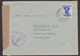 Österreich Zensurstelle 2206 Brief Aus Ulmerfeld-Hausmening Nach Der SBZ Sowjetische Besatzungszone - Hong Kong (1997-...)