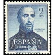 ES1118STV-LFT**1118.España.Spain,Espagne.San   Francisco  Javier .1952.(Ed.1118*)con Charnela. - 1931-Hoy: 2ª República - ... Juan Carlos I
