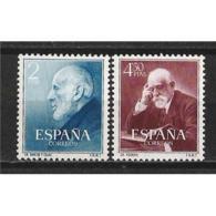 ES1119STV-LFT**1119TO.España. Spain.Espagne.MEDICOS    CAJAL Y. FERRAN.1952.( Ed 1119/0*),con Charnela. - Berufe
