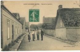 Saint Georges Motel Route De Louviers Facteur  Edition Massot - Saint-Georges-Motel