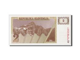 Slovénie, 2 (Tolarjev), (19)90, KM:2a, NEUF - Slovénie