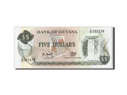 Guyana, 5 Dollars, Non Daté (1992), KM:22f, NEUF - Guyana