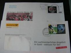 BRD 2 Briefe Post - BRD