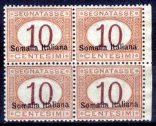 Italia-F01428 - Somalia 1920: Segnatasse, Sassone N. 24 (++) MNH - Privo Di Difetti Occulti. - Somalia
