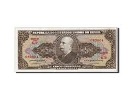 Brésil, 5 Cruzeiros, Non Daté (1962-64), KM:176c, NEUF - Brésil