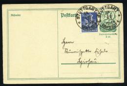 A4134) DR Infla Karte Von Stuttgart 24.7.22 - Deutschland