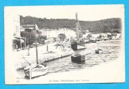 83-Toulon-Le Creux Saint Georges Prés De Toulon-cpa - Toulon