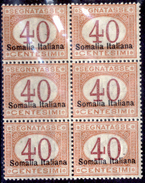 Italia-F01434 - Somalia 1920: Segnatasse, Sassone N. 27 (++) MNH - Privo Di Difetti Occulti. - Somalia
