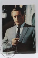 Vintage Cinema Movie Actor Postcard: Patrick McGoohan - Attori