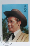 Vintage Cinema Movie Actor Postcard: Roger Moore - Acteurs