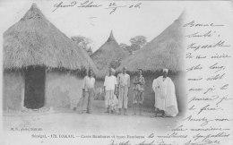 Dakar - Cases Bambaras Et Types Bambaras - Senegal